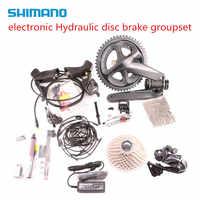 best price! shimano Ultegra r8050 di2 electronic Hydraulic disc brake groupset vs shimano r8070
