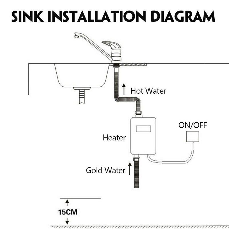 ALDXY50-XY-FB-B, aquecedor de água elétrico 220 v,