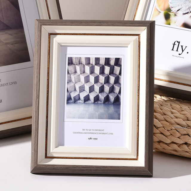 Beautiful Nordic Picture Frame Color: P Size: 10 inch