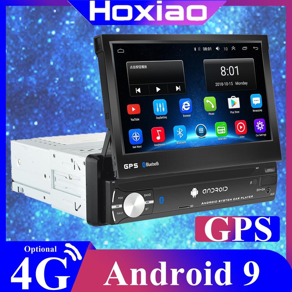 Rádio de carro 7 Polegada 1din, android, navegação gps, bluetooth, câmera traseira, rádio, vídeo player, android, estéreo, fm sd usb usb