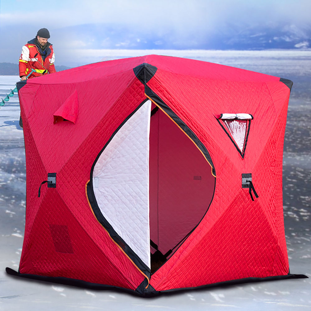 Professional Camping Tent With Transparent Window Design For Fishing And Travelling