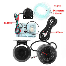 2.5in 60 Mm Auto Mobil LED Turbo Boost Vacuum Press Pressure Gauge Bar Meter(China)