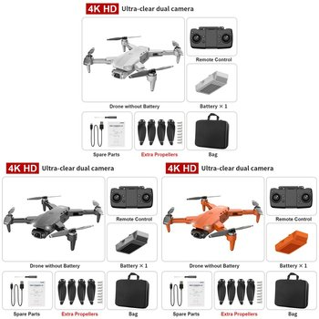 L900 Pro Four Axis Aircraft Aerial Photography Folding Gps Remote Control Drone Wide-angle Electric Adjustment Camera 3
