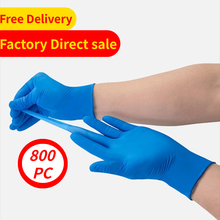 Nitrile-Gloves Disposable Food Blue Cooking-Gloves/kitchen Prep Service Waterproof Home