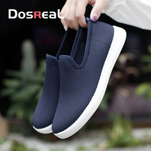 Fashion Sneakers Creepers Loafers Shoes Moccasins Slip-On Women Spring Females Breathable