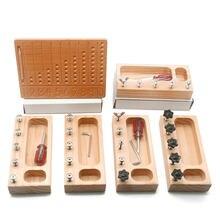 Materiais de madeira montessori digitals cognição placa montessori matemática escrita prática com caneta de madeira brinquedos para crianças g2966f