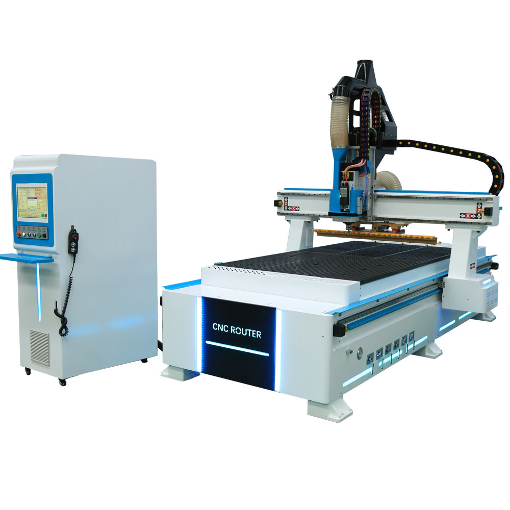 China Wood Carving Machine 1325 CNC Router With ATC Wood Milling Machine/3D Aluminum CNC Router With Taiwan Syntec Controller