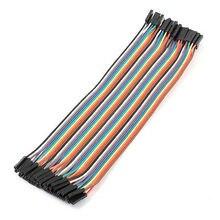 Женский к женскому 40 Pin Перемычка провода кабеля длиной 20 см