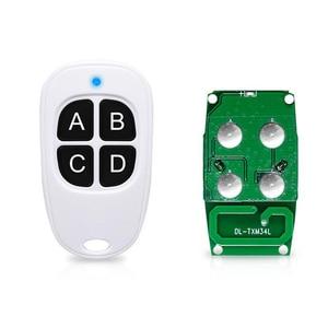 Image 4 - 2pcs/lot Universal Wireless 315MHZ /433MHZ 4 Key Garage Door Car Remote Control Copier Cloner Duplicator for Household Appliance