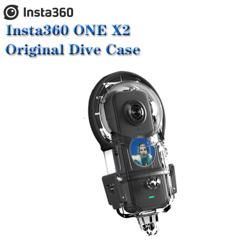 Insta360 One X2 Dive Case Lens Cap Lens Guard Charger Mic Adapter Carry Case Origianl Accessories For One X 2 Flash Deal 4234bc Cicig