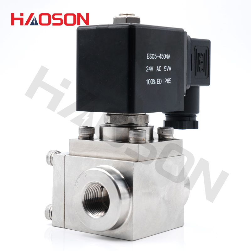 "1Pcs G1//8/"" DC12V 304 Stainless Steel Electric Solenoid Valve Normally Closed"