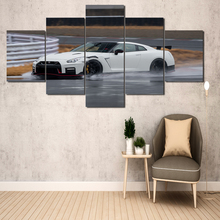 Two-finger interlocking 5 panel HD printing canvas painting bedroom for modern living room home wall art decoration