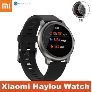 Смарт-часы Xiaomi Haylou, мужские и женские умные часы с солнечной батареей, IP68 Водонепроницаемые, для iOS, Android, фитнес-трекер с дистанционным управ...