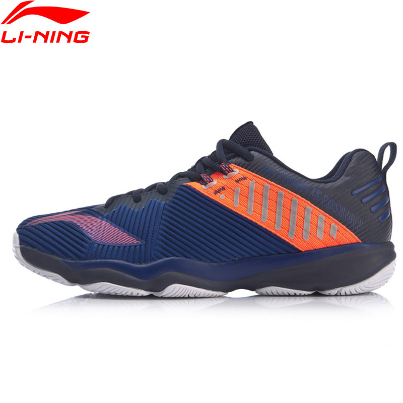 Li-Ning Men RANGER 4.0 TD Professional Badminton Shoes Wearable Support LiNing Breathable Sport Shoes Sneakers AYTP031 XYY139