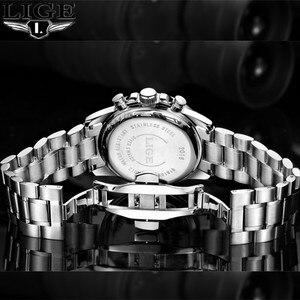 Image 5 - 2019 New LIGE Men Watches Top Brand Luxury Chronometer Sport Waterproof Quartz Fashion Business Watch Clock Relogio masculino