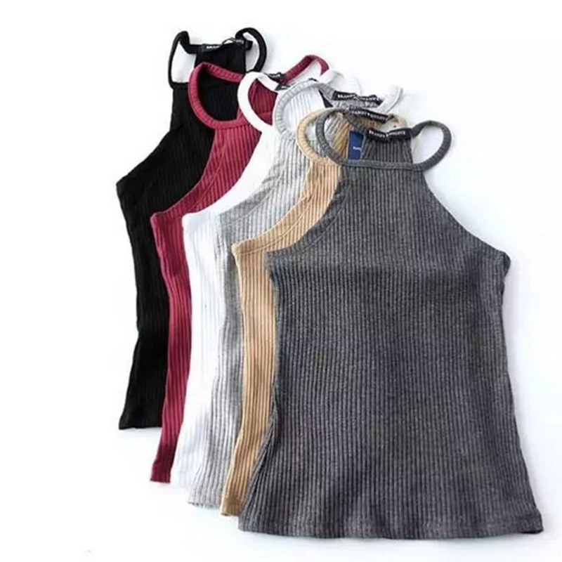 Dutiful 2020 Summer Casual Knit Basic Tank Top Women Ribbed Stretchy Solid Sport Summer Crop Top 2020 Off Shoulder Sexy T Shirt