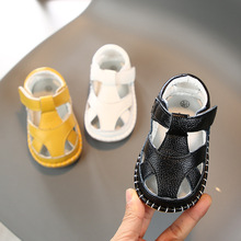 Toddler Shoes Boys Sandals Baby-Girls Genuine-Leather Infant Casual Summer Children Anti-Collision