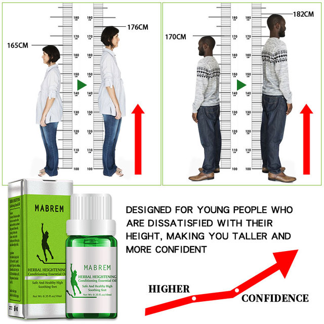 Height Increasing Oil Medicine Body Grow Taller Essential Oil Foot Health Care Products Prompt Bone Growth 3