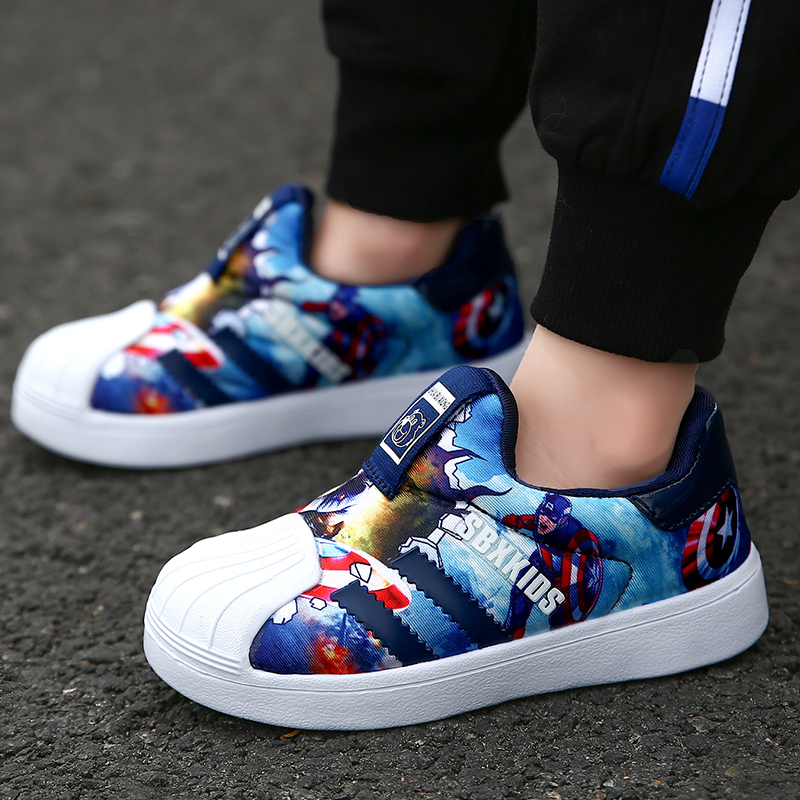 2020 Spring Kids Sport Shoes For Boys Sneakers Fashion Comfortable Children Shoes Girls Light Casual Child Shoes Boy