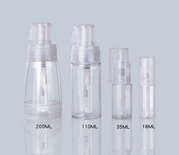 Portable Clear Powder Atomizer Bottle Plastic Refillable Sprayer Container Bottling Of Talcum Powder Tools 18/35/110/200ml