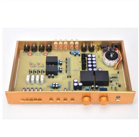 Haut de gamme Version améliorée Clone FM255 préamplificateur haut de gamme préamplificateur Audio HiFi préamplificador