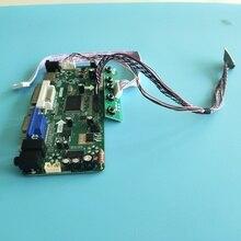 """עבור LTN156AT05/LTN156AT05 U09 15.6 """"בקר ערכת פנל מסך נהג לוח VGA HDMI צג כרטיס LCD LED 1366X768 DVI LVDS"""