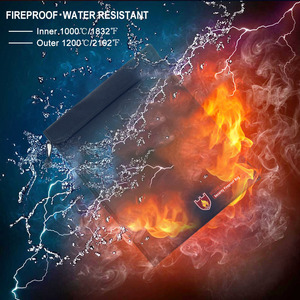 Image 3 - Fireproof Document Bag Waterproof Fire Resistant Pouch for Files Money Documents SP99
