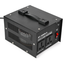 1000w transformer ac220v to 110v ac110v to 220v converter 500W Power Converter Voltage Converter with 2Pcs Universal Sockets 110V to 220V Power Transformer ST-500VA US Plug