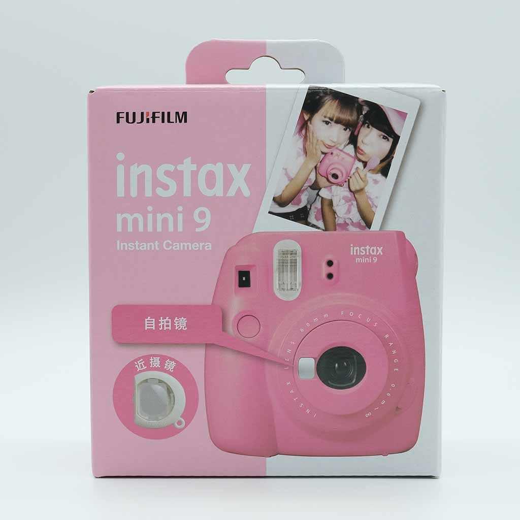 FUJIFILM Instax Mini 9 Kamera Film Hadiah Bundle Baru 5 Warna Hadiah Tahun Baru Natal Instan Kamera Photo Kamera 2020 Baru