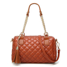 bags for women 2019 Women's handbag fashionable rhomb tassel chain bag one shoulder diagonally across women's bag