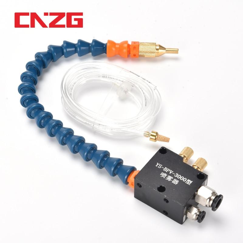 Haute qualité brouillard liquide de refroidissement lubrification CNC refroidissement système de pulvérisation unité tour fraisage perceuse gravure Machine-outil pour tuyau de 8mm
