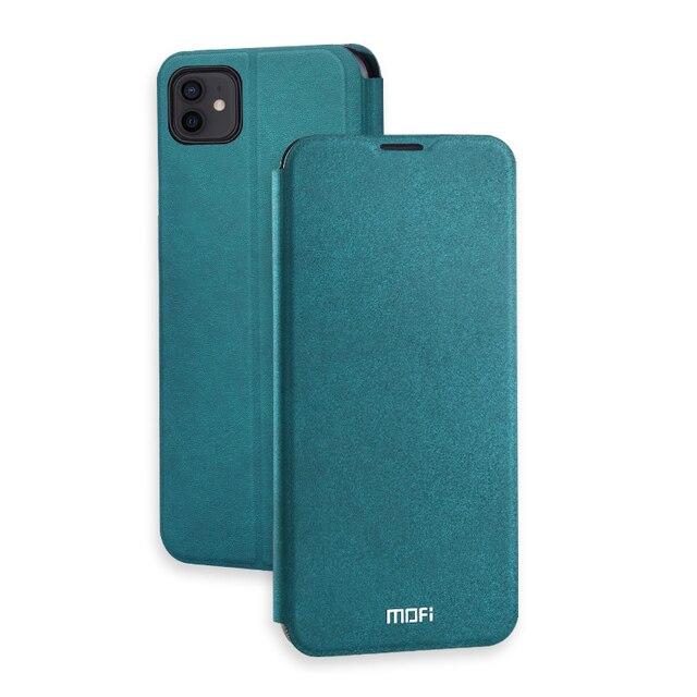 Housse MOFi pour iPhone 12 étui Pro housse en Silicone pour iPhone 12 Mini housse de luxe Silm pour iPhone 12 Pro coque Max