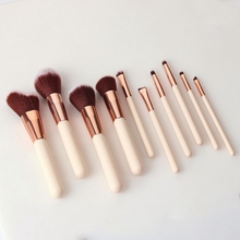 Makeup Brushes Set Foundation Powder Blush Eyeshadow Concealer Lip Eye Make Up Brush Cosmetics Beauty Tools jessup buy 3 get 1 gift makeup brushes set foundation blush liquid kabuki eyeshadow eyeliner lip contour make up brush smudge