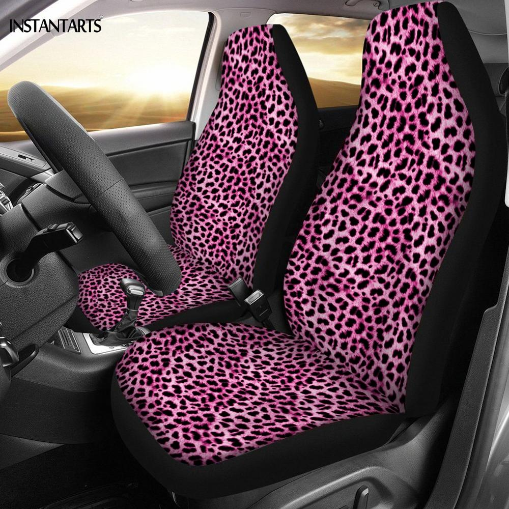Zebra Red Print Soft Plush Seat Belt Pads Strap Cover One Pair