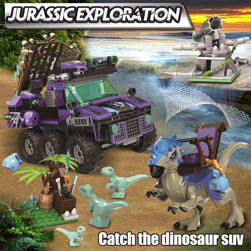 Winner Jurassic Catch the Dinsaur SUV Building Blocks