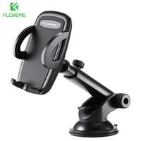 FLOVEME-Soporte de teléfono con ventosa para coche, accesorio para tablero de automóvil, con bloqueo automático, para iPhone y Xiaomi