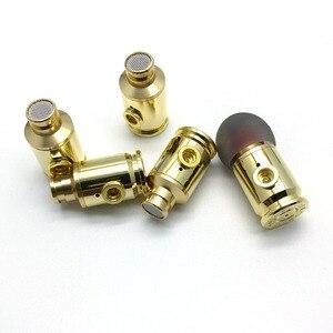 Image 1 - GM80 auriculares intrauditivos de metal de 8mm, sonido de calidad, música HIFI, auriculares realmente bull con conector MMCX