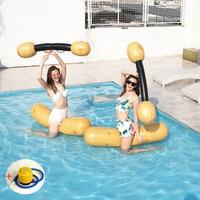 5 Pcs Unisex PVC Water Inflatable Canoe Hammock Beach Float Air Mattress Aquatics Swimming Pool Air Mattresses Raft+Inflator