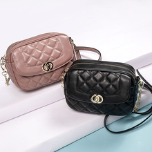Female Bag 2019 New Small Lingge Fashion Handbags Shoulder Diagonal Package