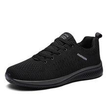 2019 2018 New Mesh Men Casual Shoes Lac-up Men