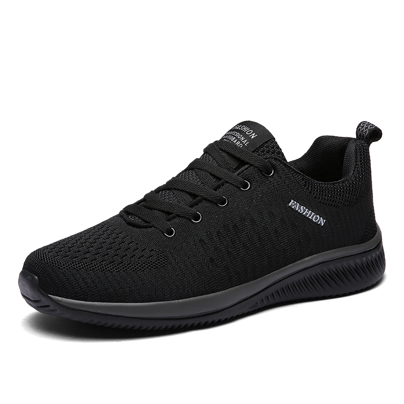 2018 New Mesh Men Casual Shoes Lac up Men Shoes Lightweight Comfortable  Breathable Walking Sneakers
