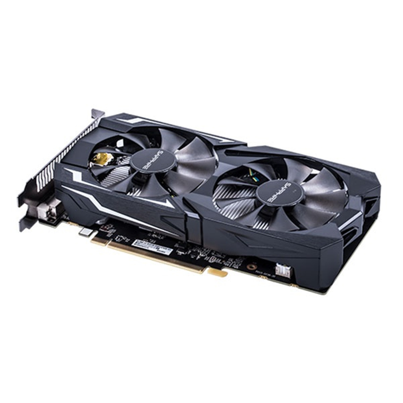 SAPPHIRE RX 560 4GB Video Card GPU Radeon RX 560D 4G RX560 RX560D Graphics Cards Computer Game For AMD Video Card Map HDMI PCI-E 4