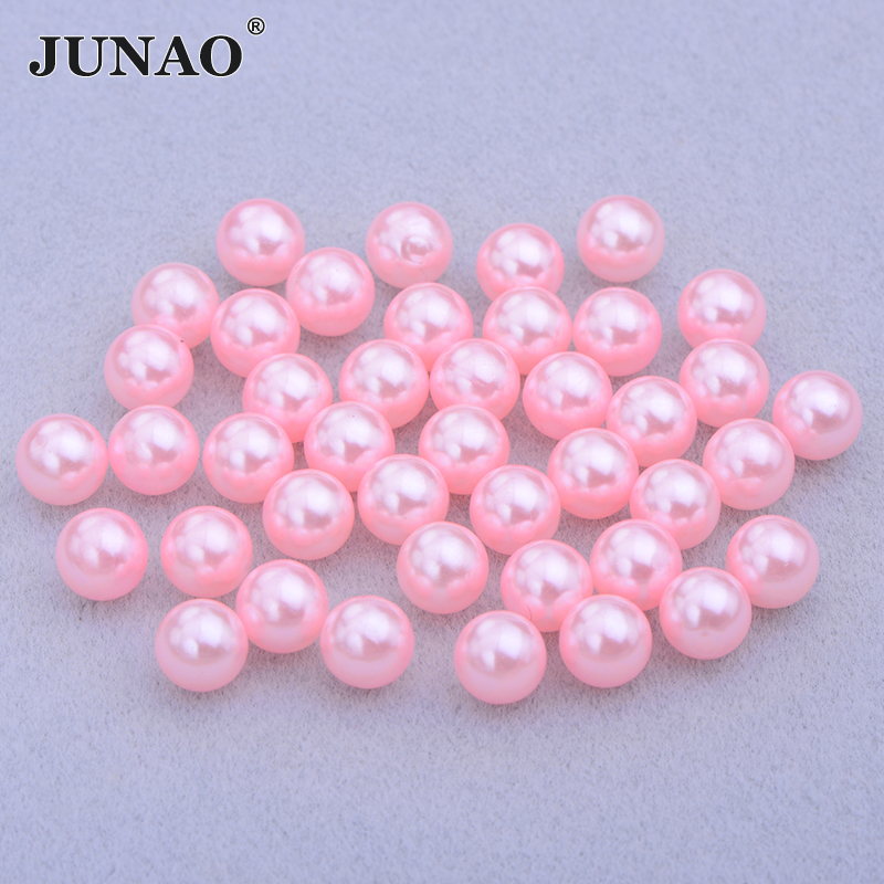 Brads for Crafts /& Scrapbooking Round Light Pink Pearl Brads 8mm Pack of 50