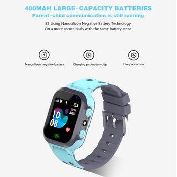 Z1 Smart Watch for Kids LBS Tracker SOS Call Anti Lost Baby Watch Children Phone Watches for Boy girls pk Q50 Q60 Q528 Q90 Q100 6