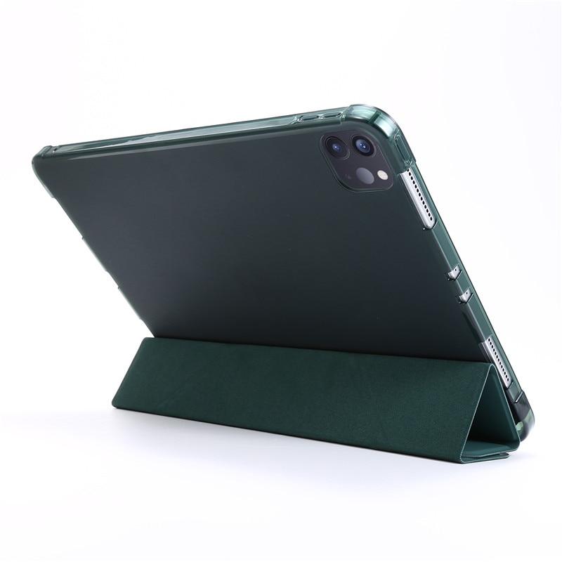 Slim Leather Case Back iPad Tablet 2020 2020 Smart 11 Pro Funda PU Soft For For Pro iPad