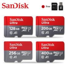 Sandisk Ultra Micro SD 128GB 64GB 32GB 200GB 256GB 400GB Memory Card 16GB microsd card TF/SD Flash Card C10 for Phone UAV GPS