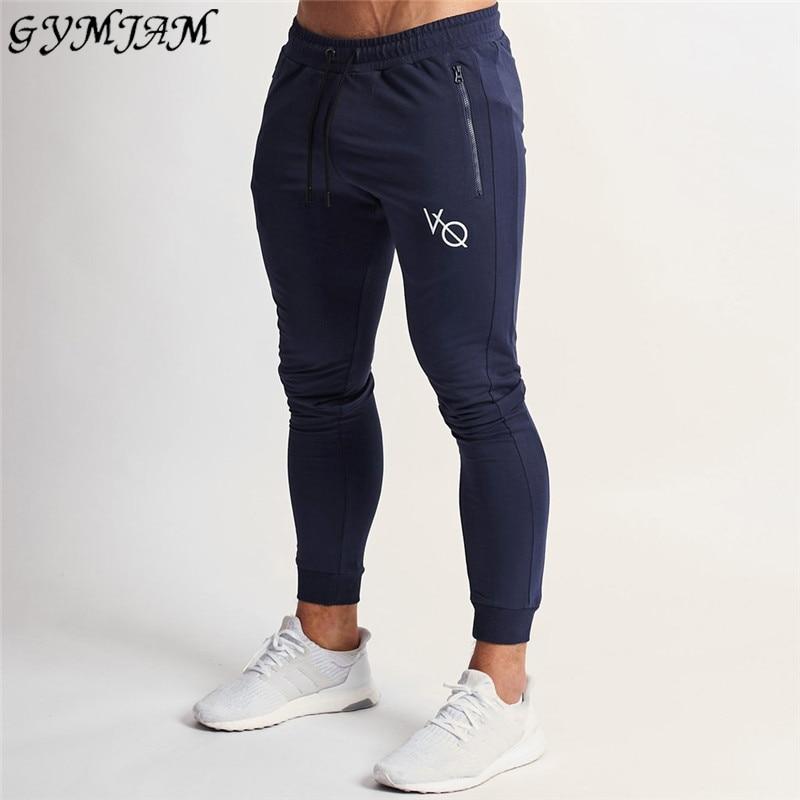 Cotton Pocket Zipper Men's Trousers Street Clothing Casual Pants Jogger Fashion Men's Fitness Pants Brand Sports Pants