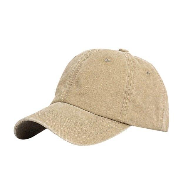 Ponytail Messy Buns Trucker Plain Baseball Visor Cap Unisex Hat  Plain Dad Hat Unisex Adjustable Outdoor Hip-Hop Fashion Cap#T2 2