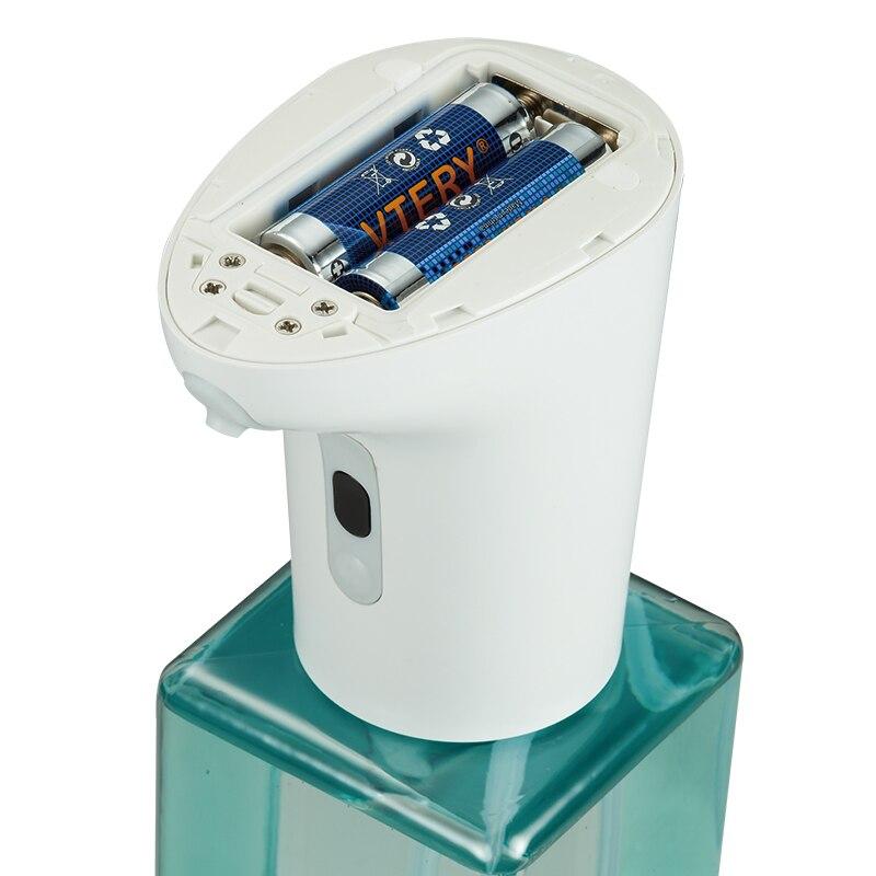 New Automatic Soap Dispenser Bottle Foaming Hand Sanitizer Dispenser Pump Infrared Sensor Waterproof Suitable for Family Hospita