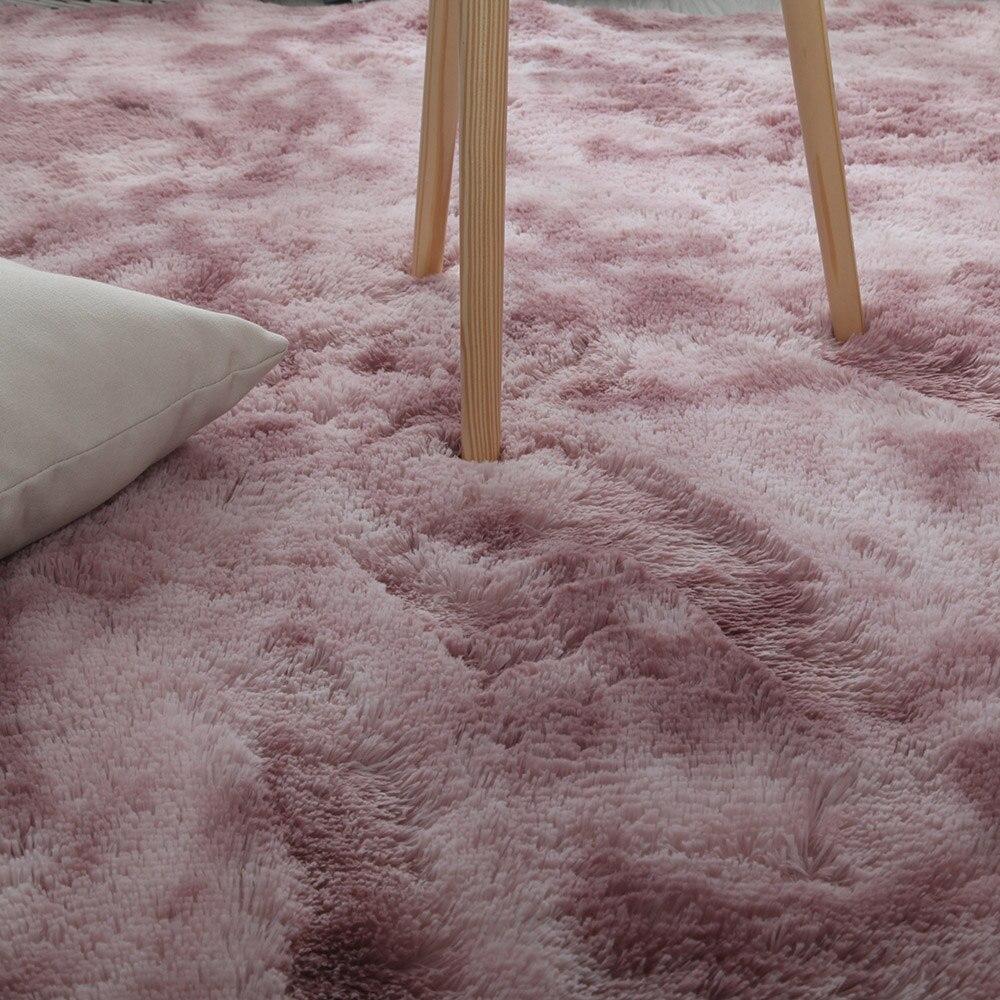 160*200cm doux chambre tapis de sol dégradé couleur moelleux zone tapis salon tapis couloir tapis antidérapant tapis décoration de la maison